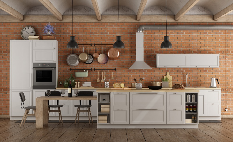 Industrial Style Kitchen Ecocabinets